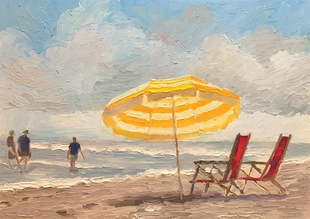 """""""Monday in August"""" original fine art by Sharon Egan"""