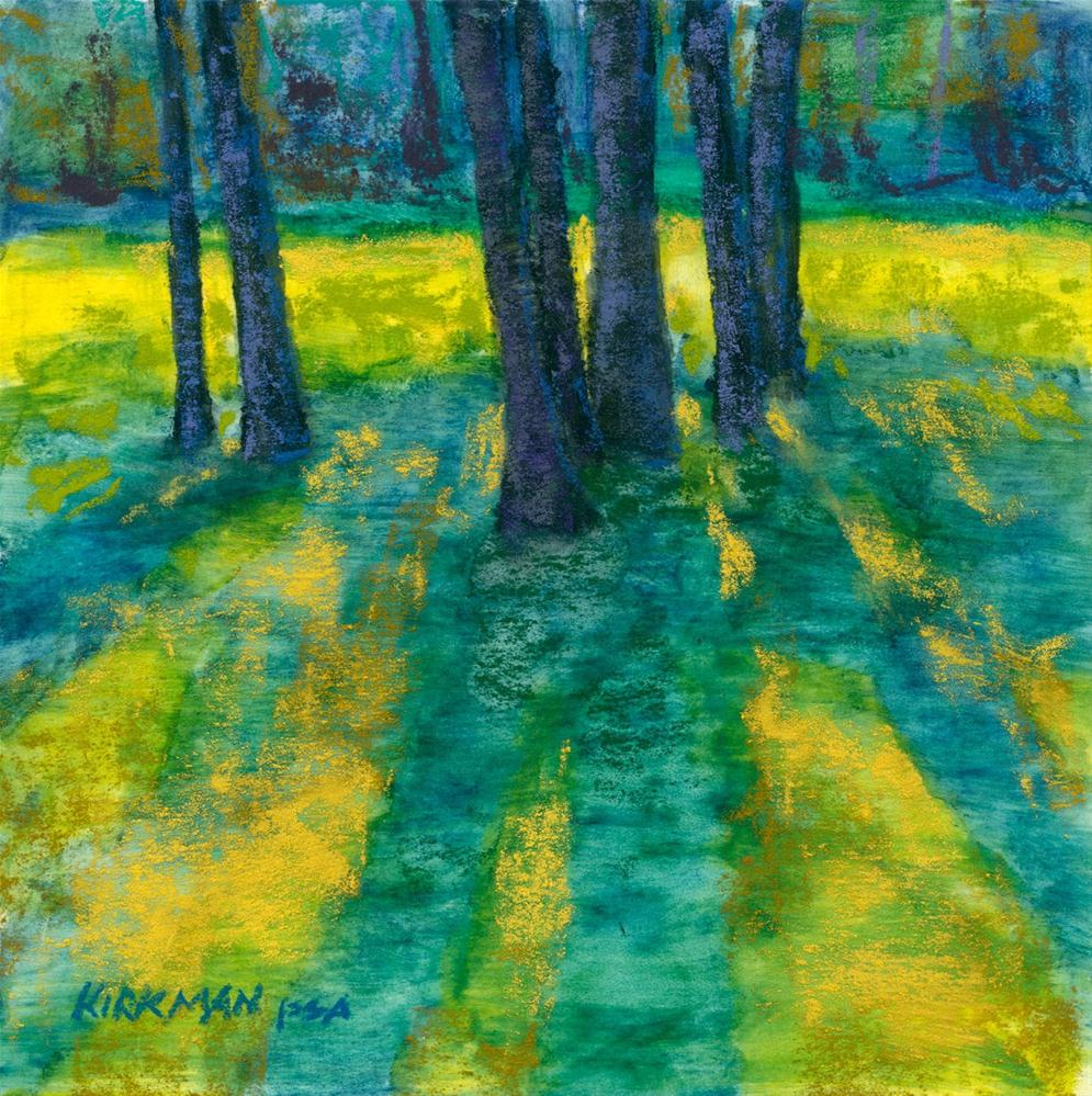 """Trees, Standing"" original fine art by Rita Kirkman"