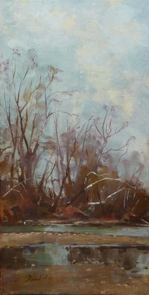"""Bourbeuse River"" original fine art by Ron Ferkol"