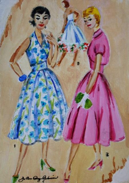 """Vintage Spring"" original fine art by JoAnne Perez Robinson"