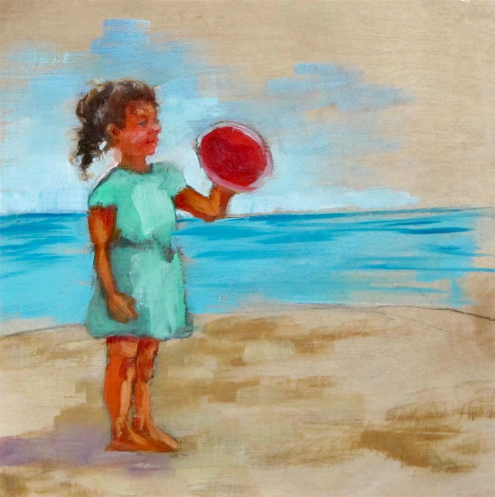 """""""I Can Do It"""" original fine art by Christine Holzschuh"""