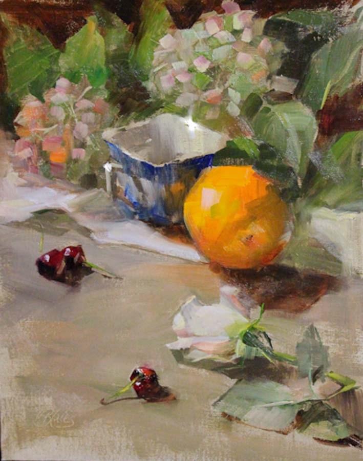 """""""Summer Bliss - see the video demo"""" original fine art by Pamela Blaies"""
