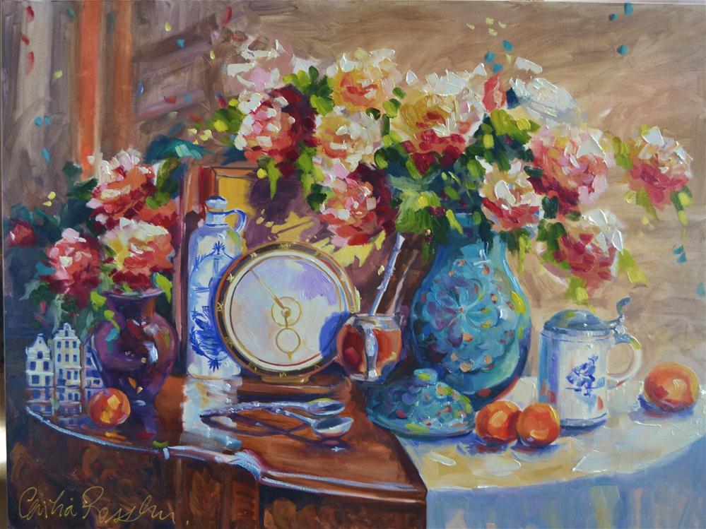 """MARTIN'S MEMORIES"" original fine art by Cecilia Rosslee"