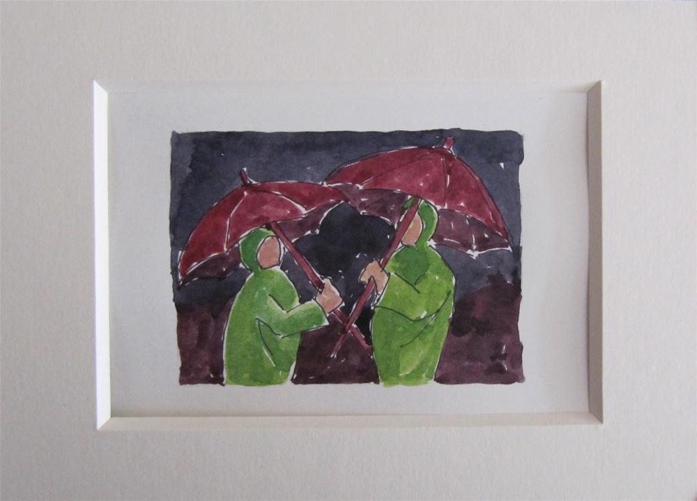 """The Paint It Small Challenge"" original fine art by Steinunn Einarsdottir"