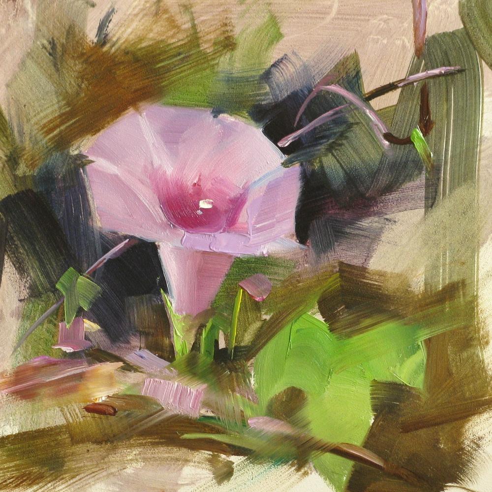 """""Good Morning"" original fine art by Qiang Huang"