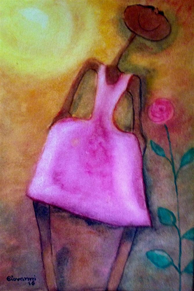 """A beautiful day"" original fine art by Giovanni Antunez"