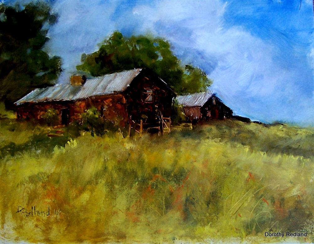 """""""Old Quested place"""" original fine art by Dorothy Redland"""