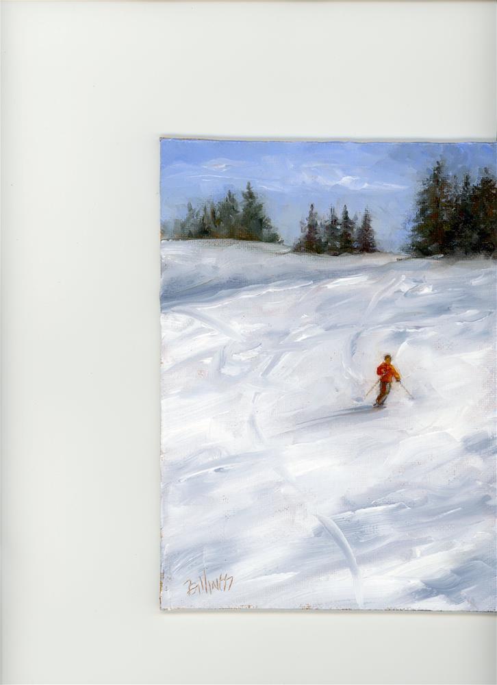 """""""Downhill I"""" original fine art by Susanne Billings"""
