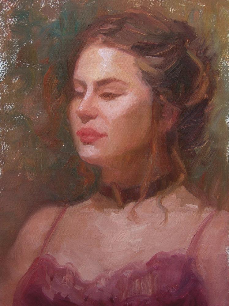"""Bailey"" original fine art by Sherri Aldawood"