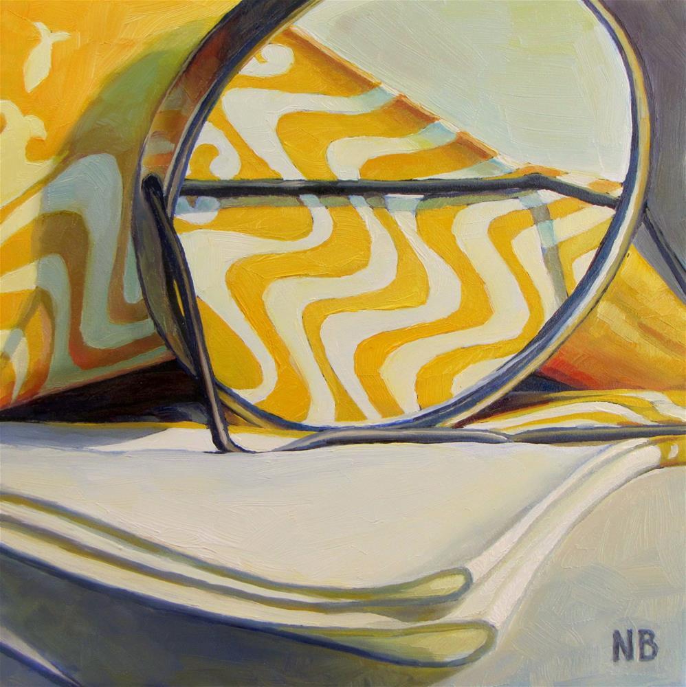 """Amber Waves"" original fine art by Nora Bergman"