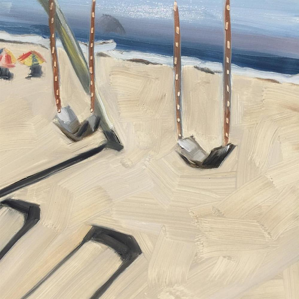 """351 Swings and Shadows"" original fine art by Jenny Doh"