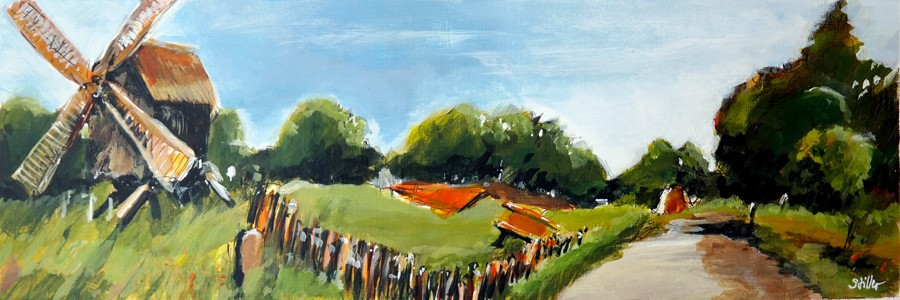 """2500 Jubilee Painting"" original fine art by Dietmar Stiller"