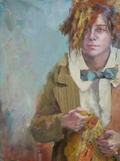 """""""First Day"""" original fine art by Katie Wilson"""