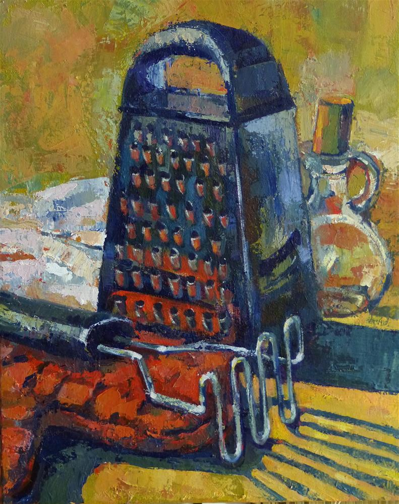 """Chef at Work"" original fine art by Katya Minkina"