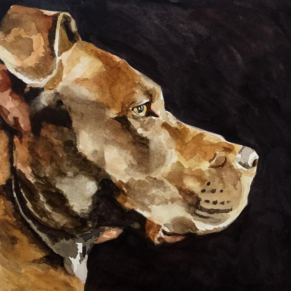 """Kaylee"" original fine art by Elizabeth Dawn Johnston"