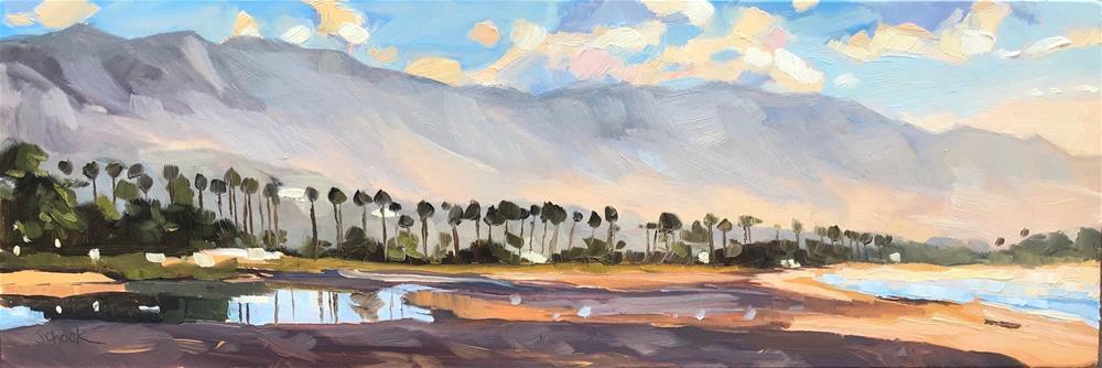 """East Beach"" original fine art by Sharon Schock"