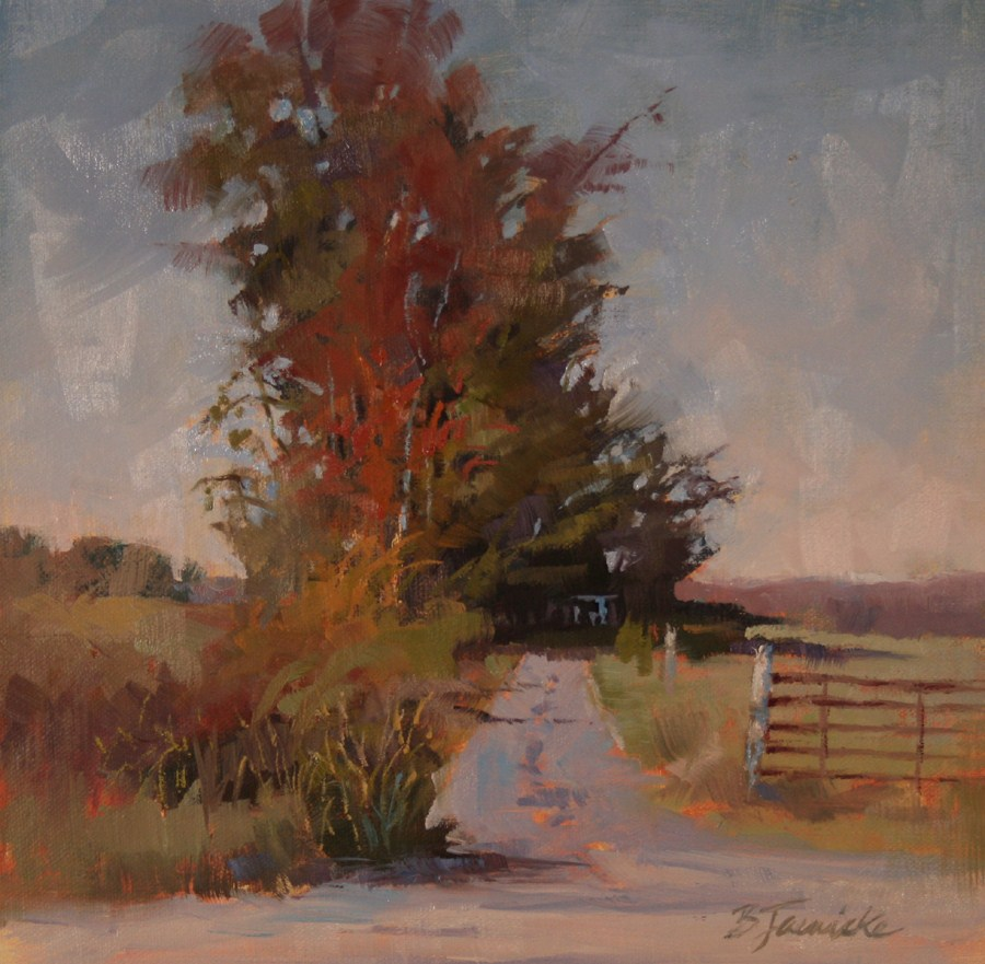 """""""The Middle of Nowhere"""" original fine art by Barbara Jaenicke"""