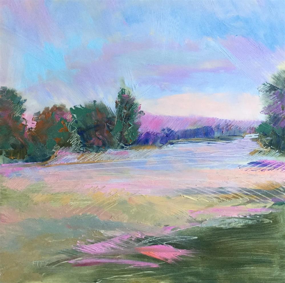 """Summer Day"" original fine art by Charlotte Fitzgerald"