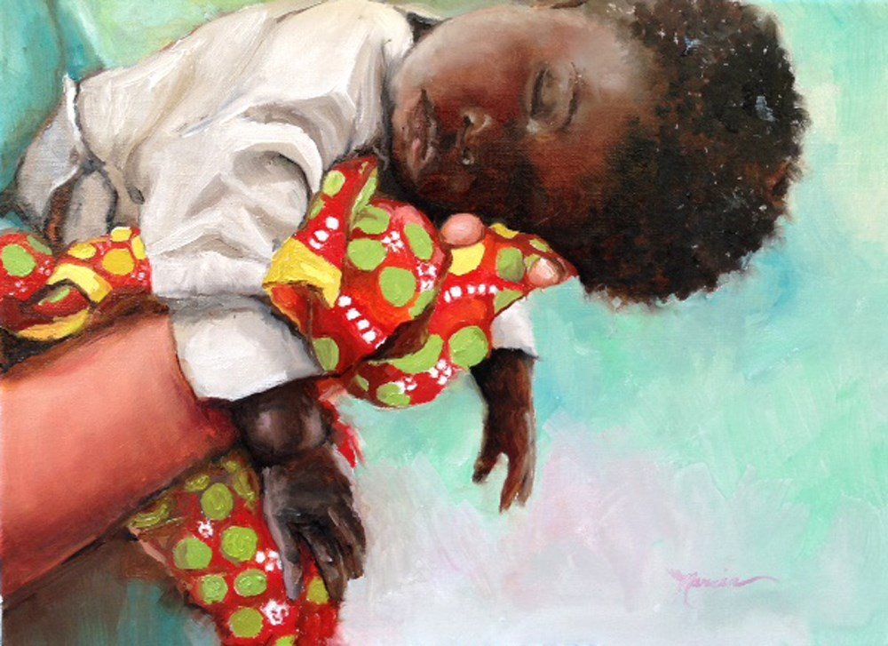 """Sweet Dreams"" original fine art by Marcia Hodges"