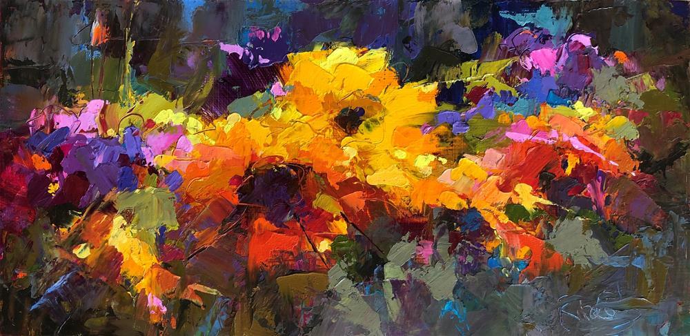 """Bright Lines"" original fine art by Rita Curtis"