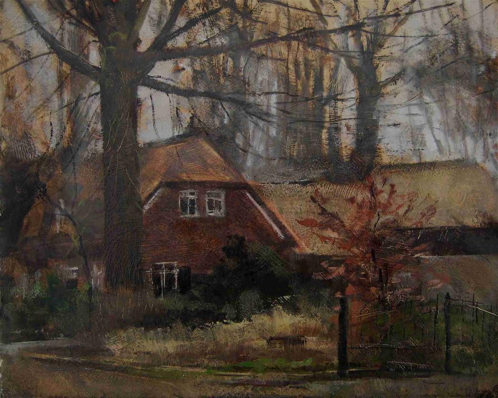 """Hermina.  D'chem, Holland."" original fine art by René PleinAir"