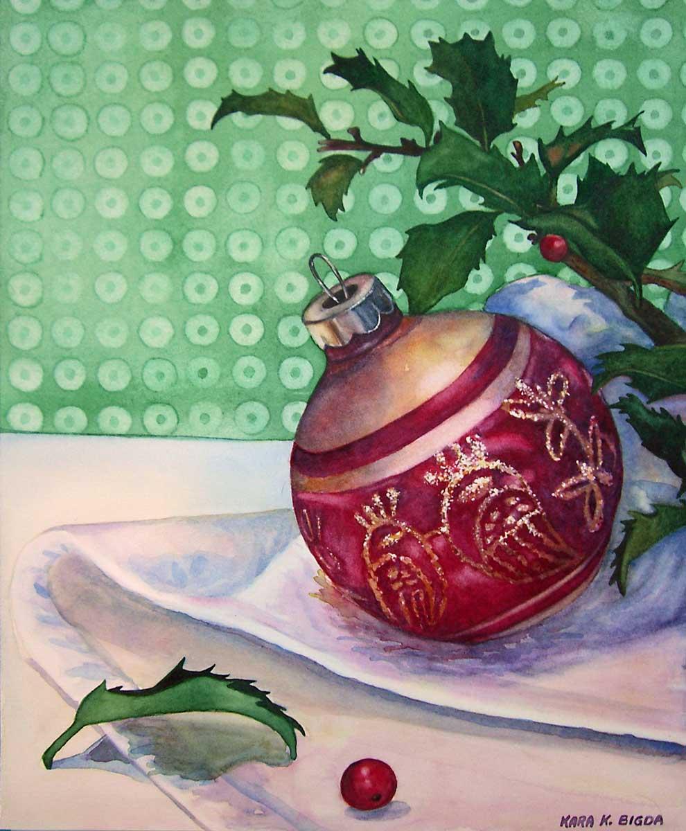 """A Vintage Bulb"" original fine art by Kara K. Bigda"