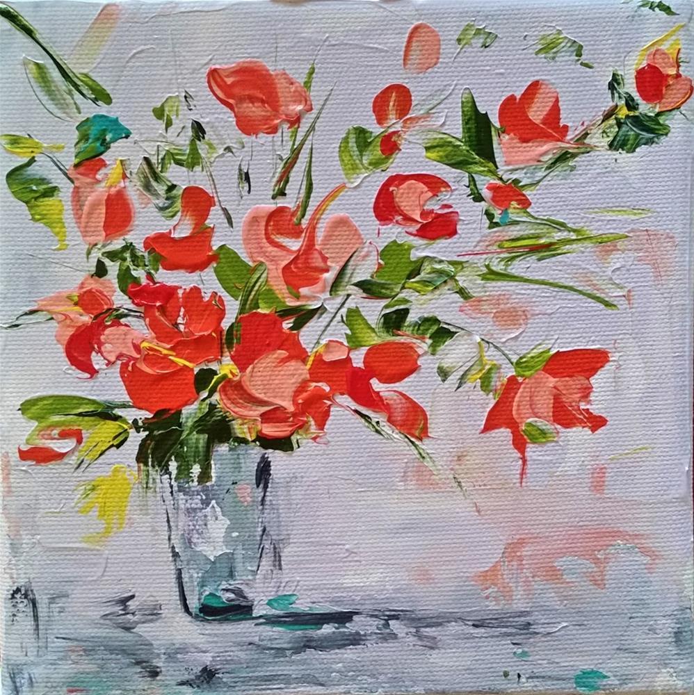 """112 - Fever of Spring"" original fine art by Lisa Rogers"