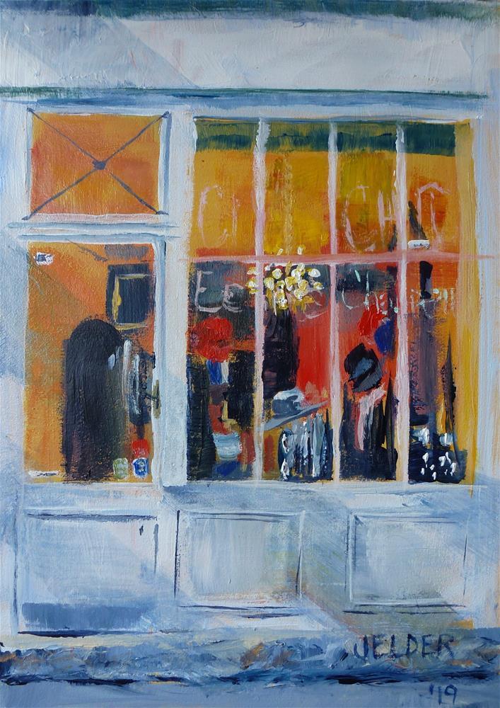 """Paris No. 120"" original fine art by Judith Elder"