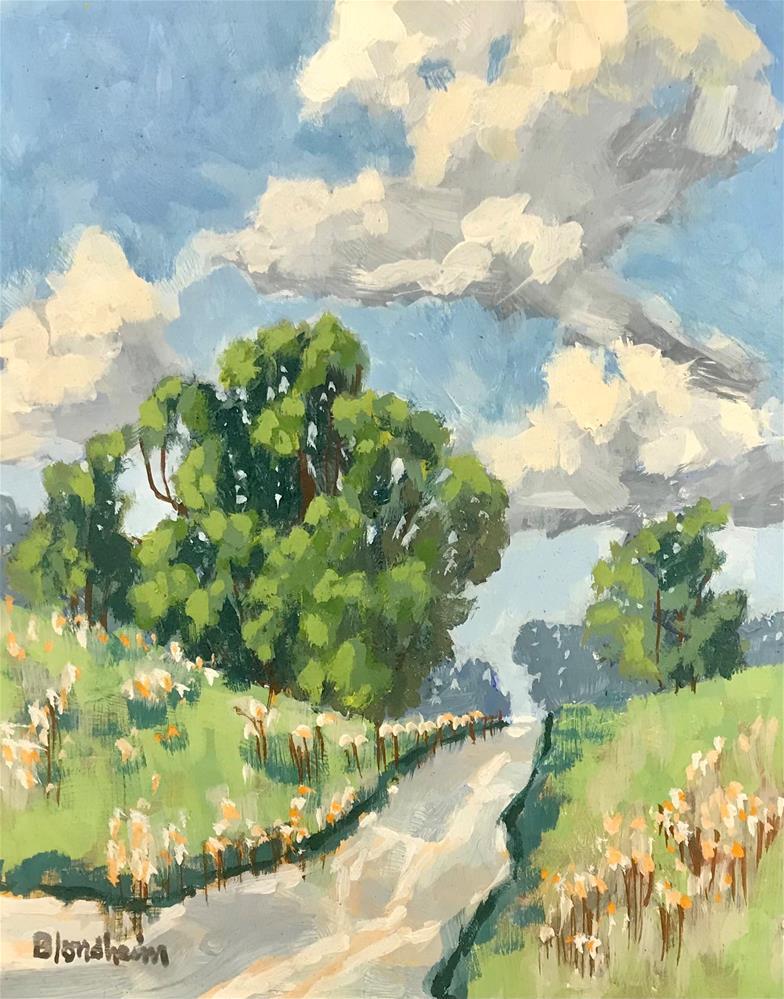 """""""Pathway"""" original fine art by Linda Blondheim"""