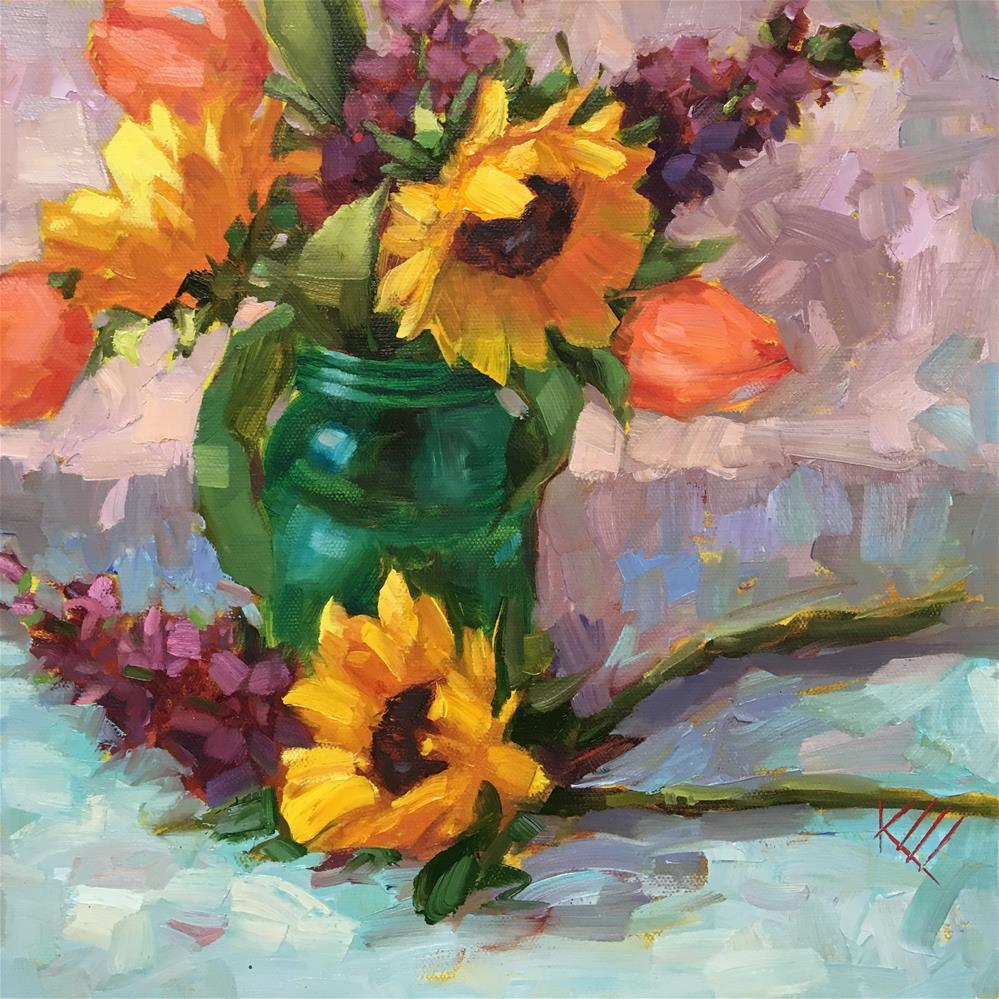 """""""Because of You"""" original fine art by Krista Eaton"""