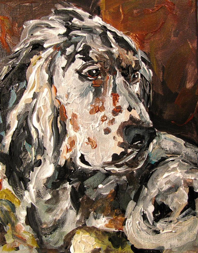 """Cheney"" original fine art by Susan Elizabeth Jones"