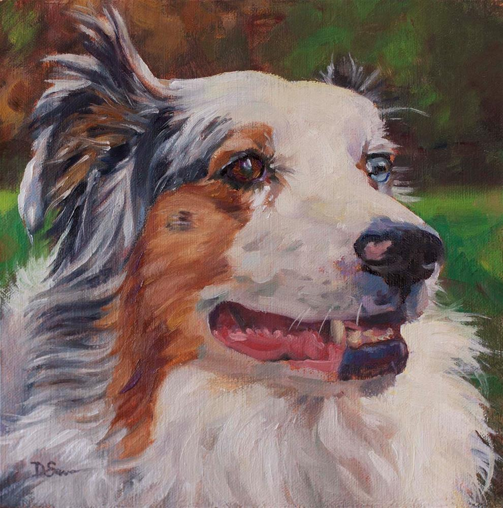"""Maggie"" original fine art by Deborah Savo"