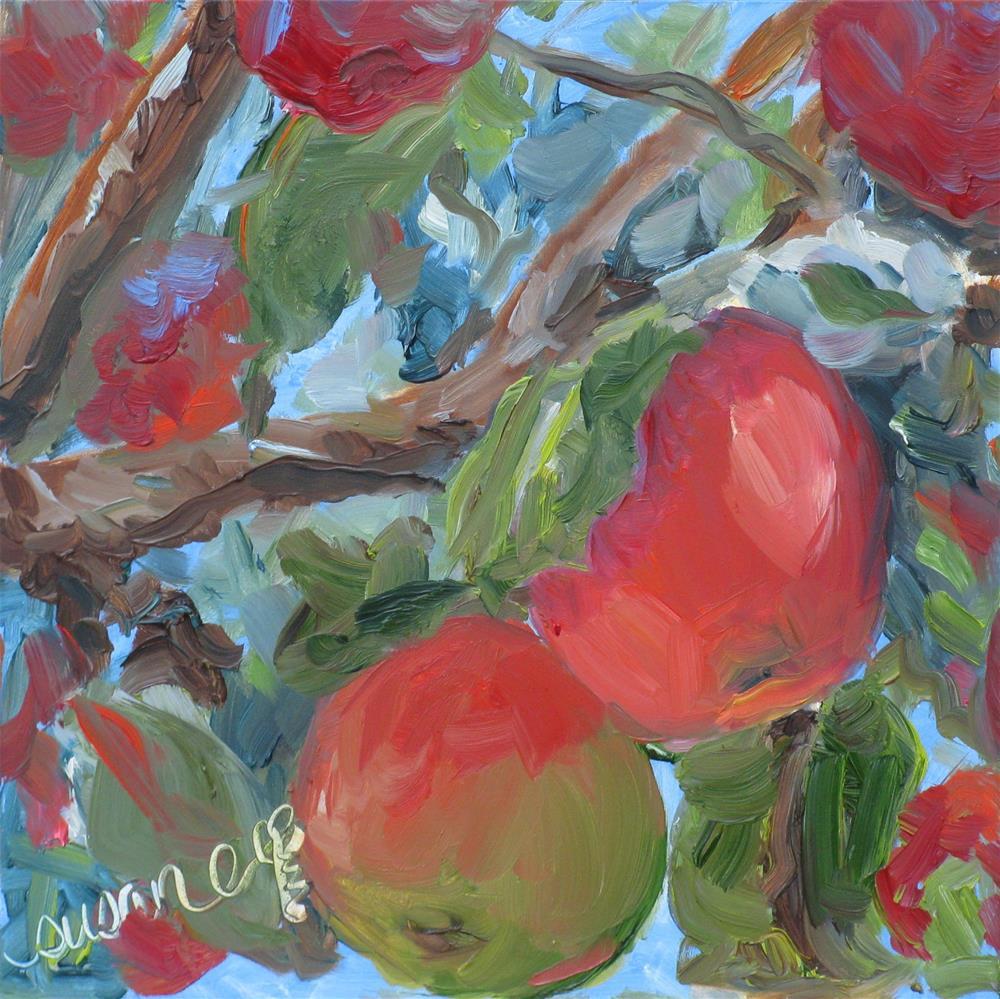 """Many a Macoun"" original fine art by Susan Elizabeth Jones"