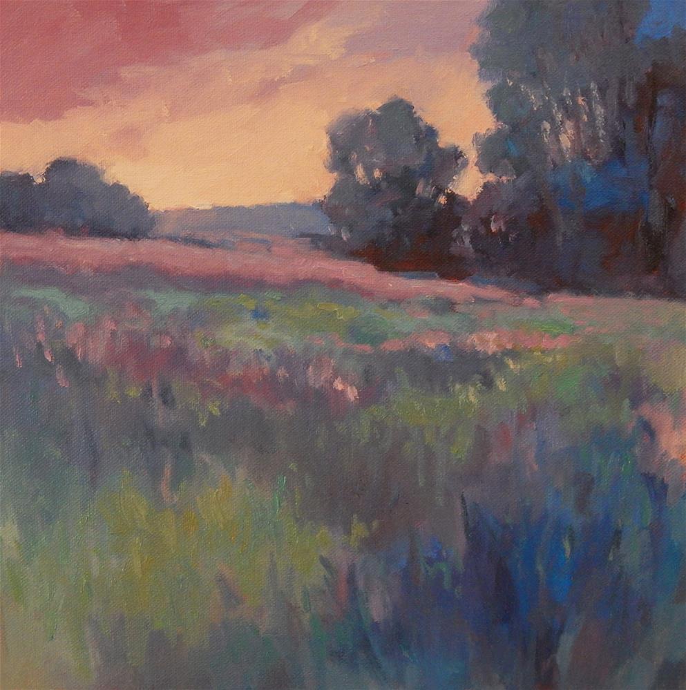 """Dreamscape 3:  Maine Meadow"" original fine art by Lisa Kyle"