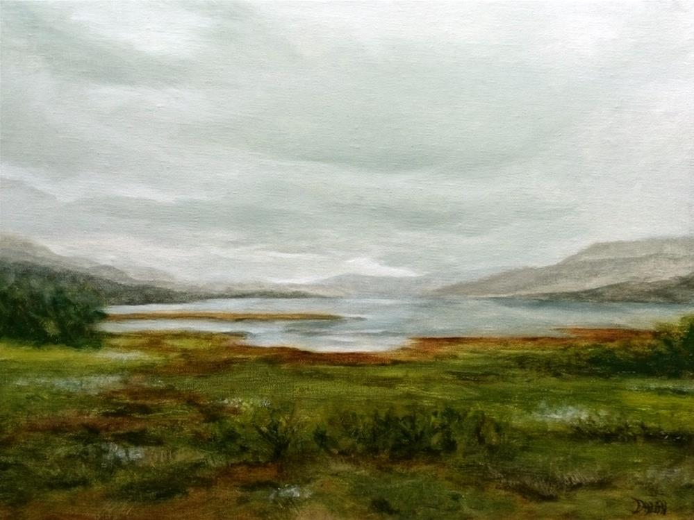 """""""Stormy Weather In The Scottish Highlands"""" original fine art by Dalan Wells"""