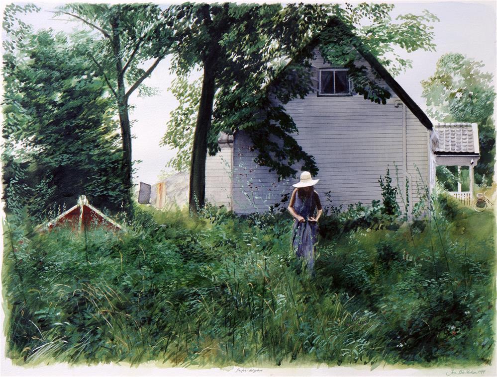 """Into The Green"" original fine art by Jon B. Paulsen"