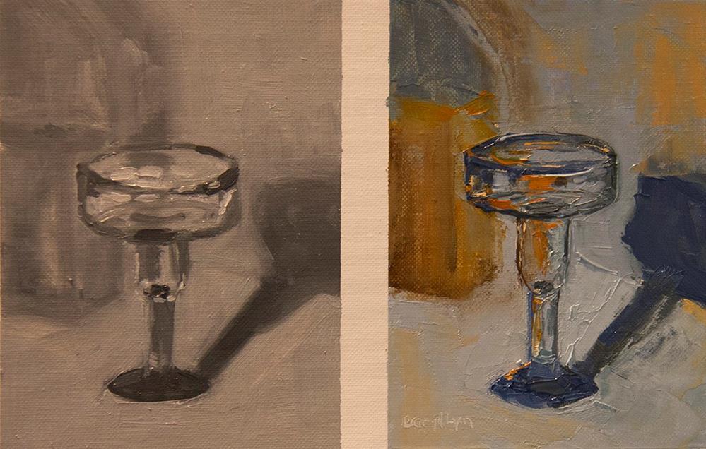 """""""Margarita"""" original fine art by Daryl Lyn King"""