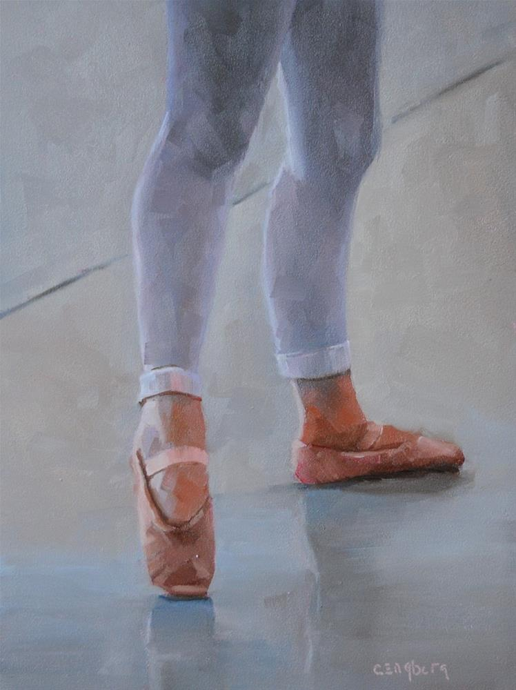 """Tendu"" original fine art by Cathy Engberg"