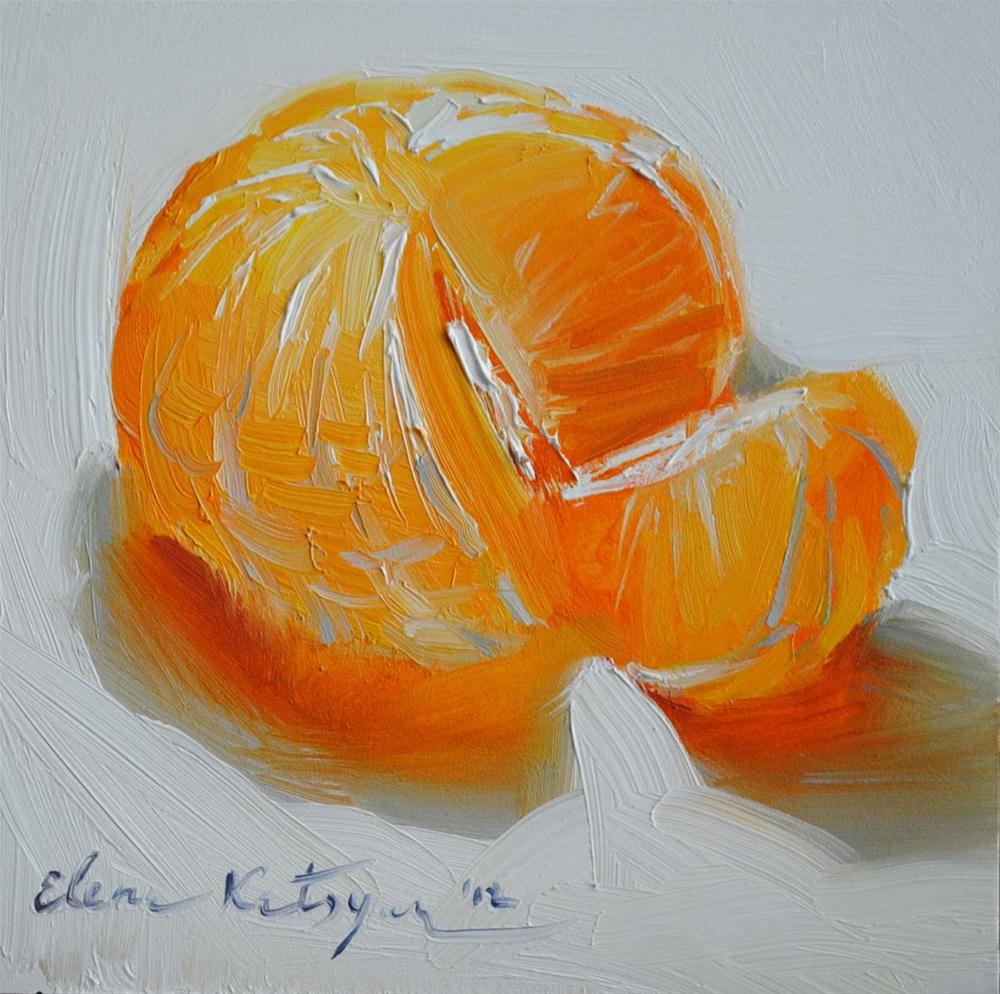 """Citrus Delight"" original fine art by Elena Katsyura"