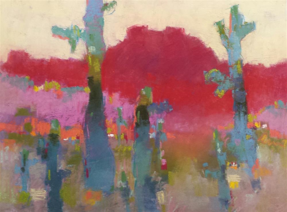 """The Nine"" original fine art by Cindy Haase"