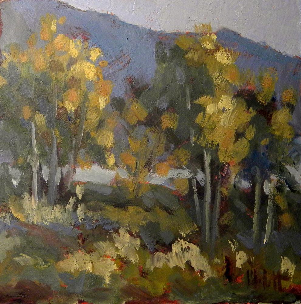 """Colorado Landscape Contemporary Impressionism Daily Oil Painting"" original fine art by Heidi Malott"