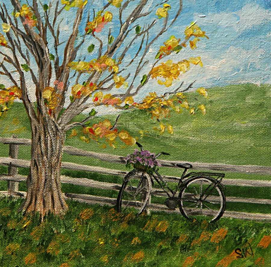 """""""Country Charm"""" original fine art by Sunny Williams"""