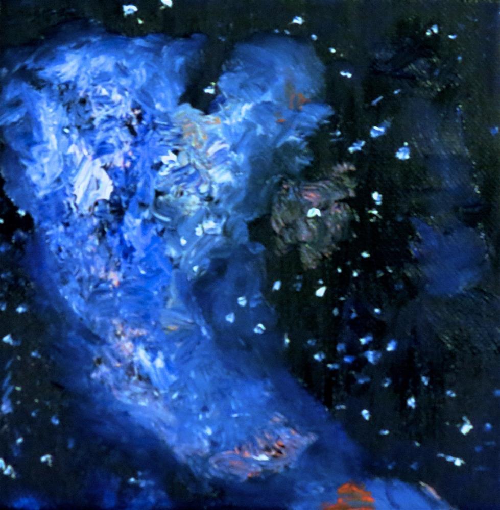 """Hubble II"" original fine art by Bob Blackmon"