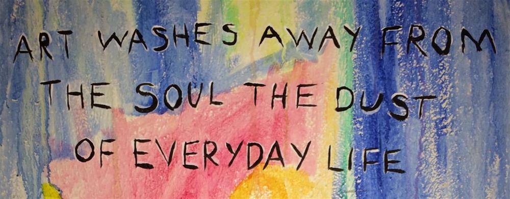 """My Favorite Quote"" original fine art by Kali Parsons"