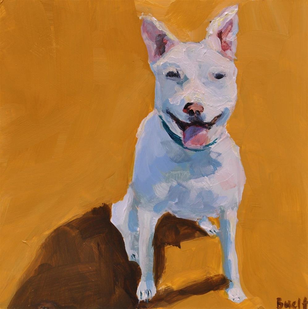 """My first painting blog post!"" original fine art by Shari Buelt"