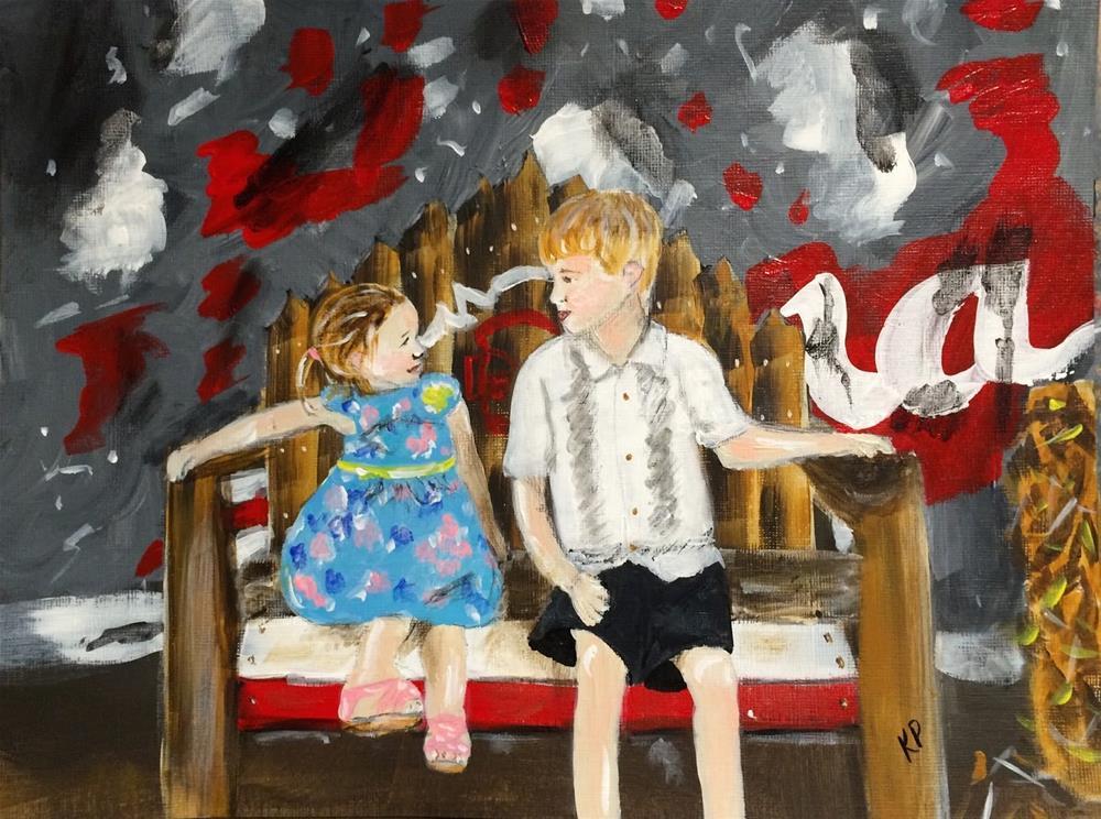 """""""Side by Side 1"""" original fine art by Kali Parsons"""