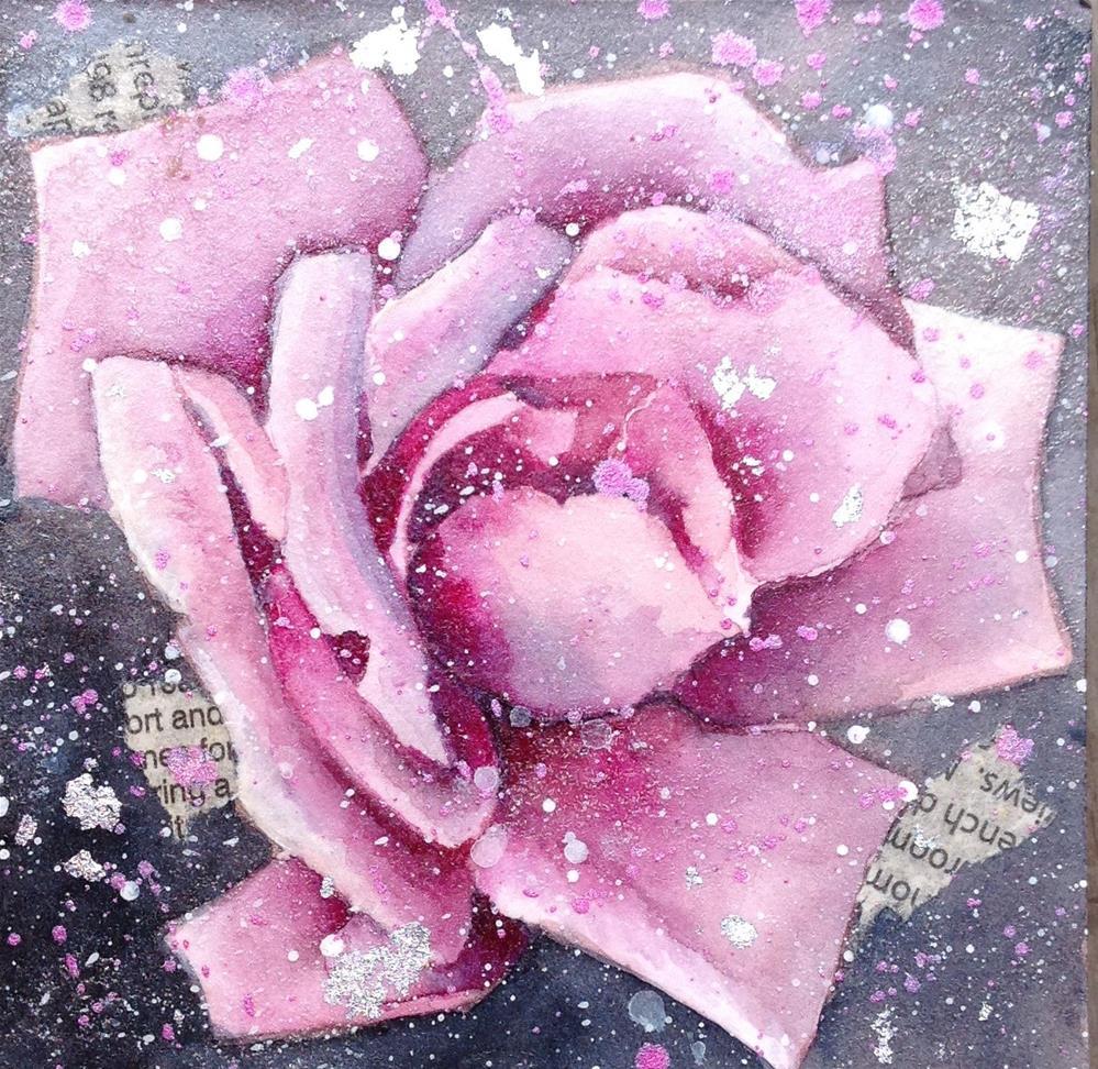 """Cross Pollination Series"" original fine art by Anne Ducrot"