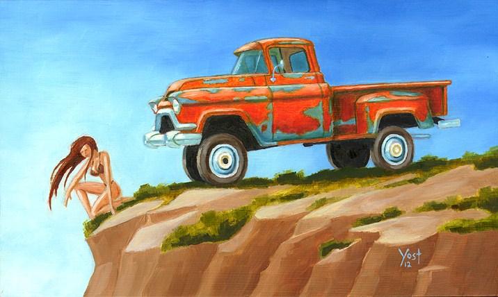 """The Primitive #4"" original fine art by Matt Yost"