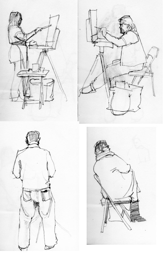 """Figures and portraits"" original fine art by Kathy Weber"