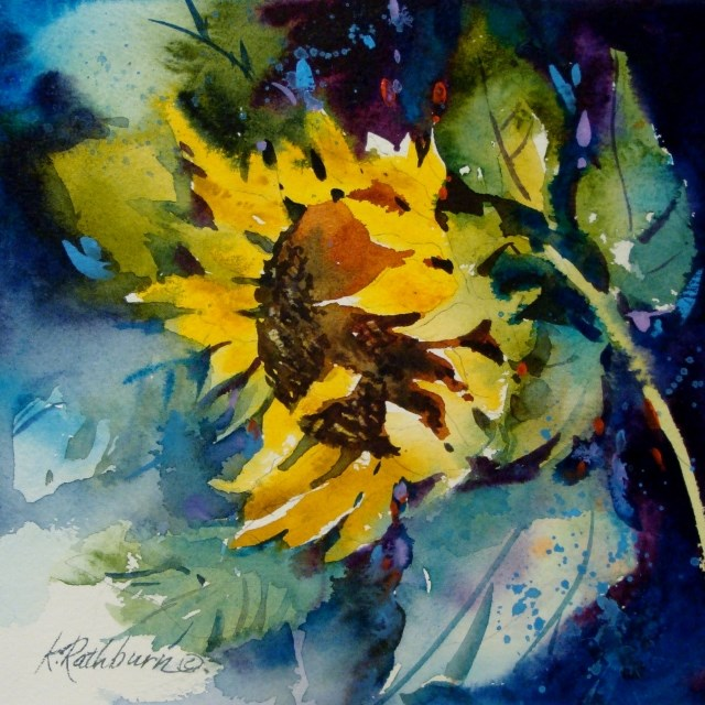 """Just Hanging Around"" original fine art by Kathy Los-Rathburn"